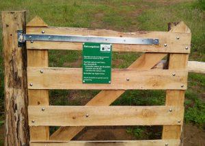 natuurgebied poort
