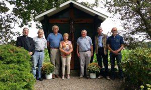 2017 aug herplaatsing het kruis Avesterweg