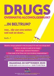 Avond over Drugs en Alcohol gebruik.... Raad van Overleg Beltrum